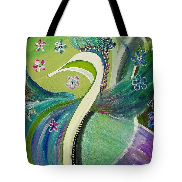 Wedding Day Tote Bag