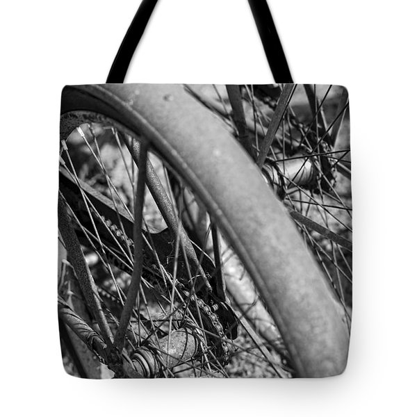 Western Flyer Tote Bag by Gordon Dean II