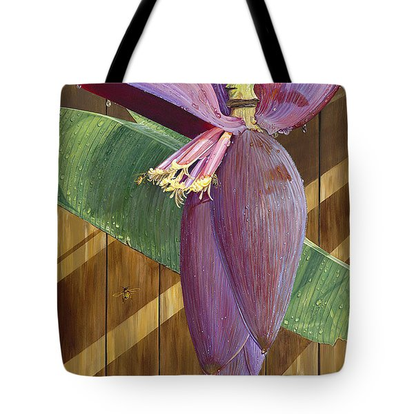 Tote Bag featuring the painting Wet by AnnaJo Vahle