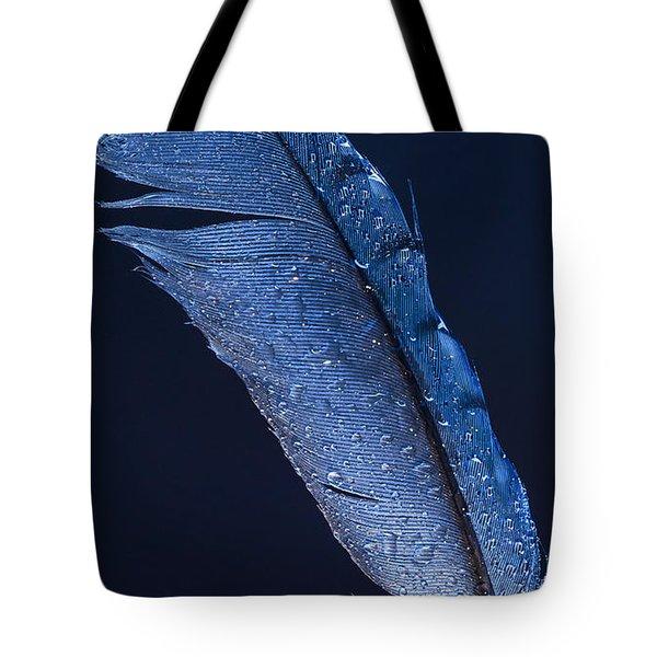 Wet Jay Tote Bag by Jean Noren