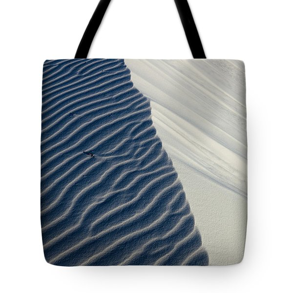 Tote Bag featuring the photograph White Sands by Keith Kapple