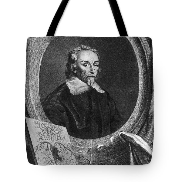 William Harvey, English Physician Tote Bag by Photo Researchers