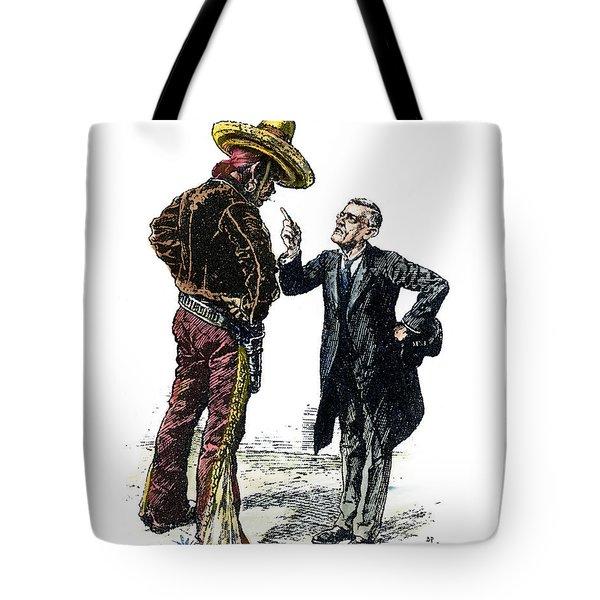 Wilson & Mexico, 1913 Tote Bag