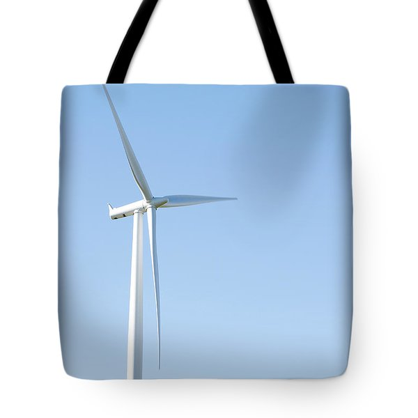 Wind Turbine  Tote Bag by Les Cunliffe