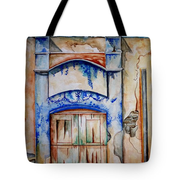 Window From Santiago Tote Bag