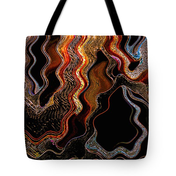 Wired Tote Bag by Skip Nall