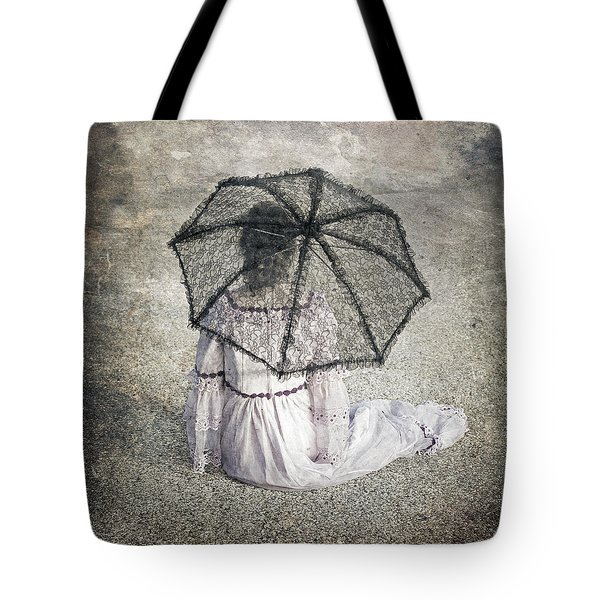 Woman On Street Tote Bag by Joana Kruse