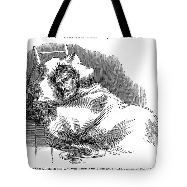 Wounded John Brown, 1859 Tote Bag by Granger