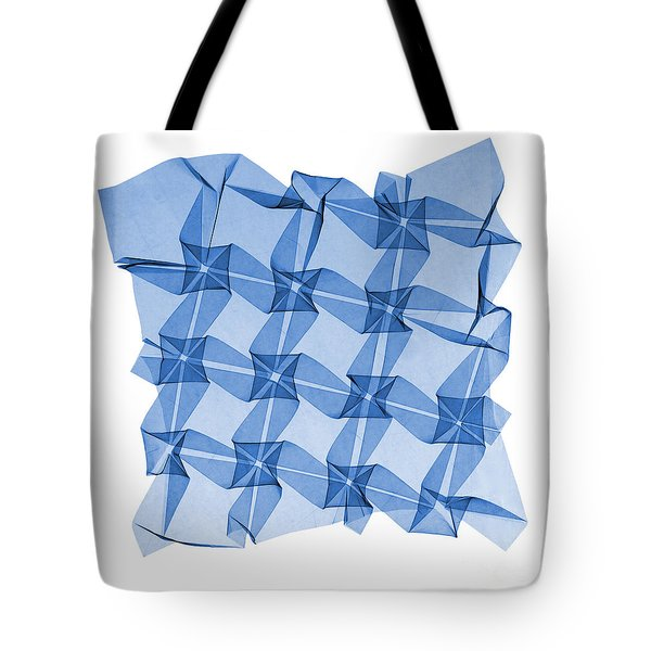 X-ray Of Mathematical Origami Tote Bag by Ted Kinsman