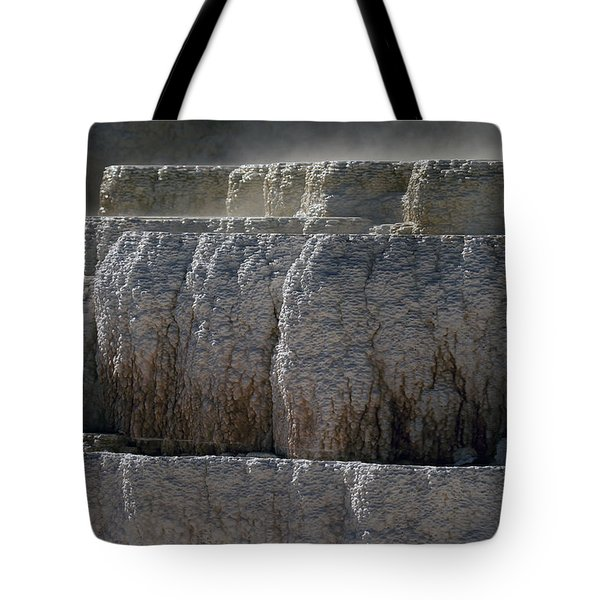 Tote Bag featuring the photograph Yellowstone Texture by J L Woody Wooden
