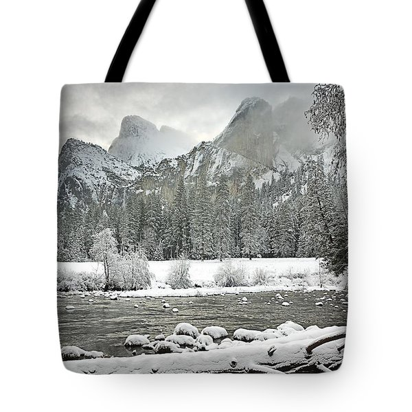 Yosemite National Park, California, Usa Tote Bag by Robert Brown