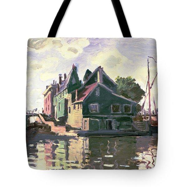 Zaandam Tote Bag by Claude Monet