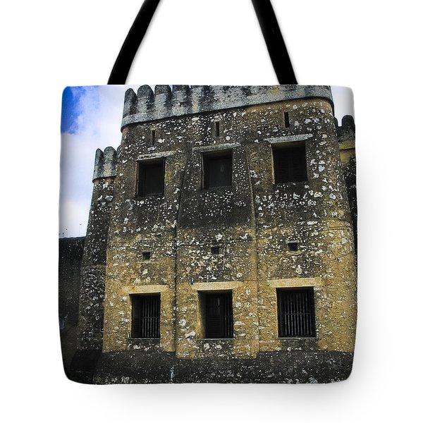 Zanzibar Old Fort Tote Bag by Darcy Michaelchuk