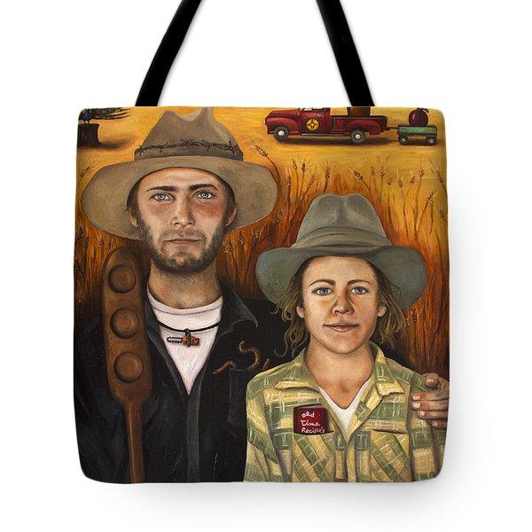 Zeb And Ellen Tote Bag