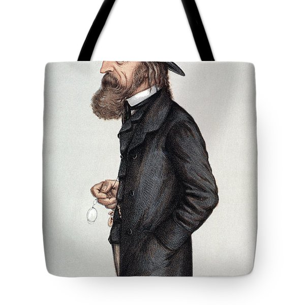 Alfred Tennyson (1809-1892) Tote Bag by Granger