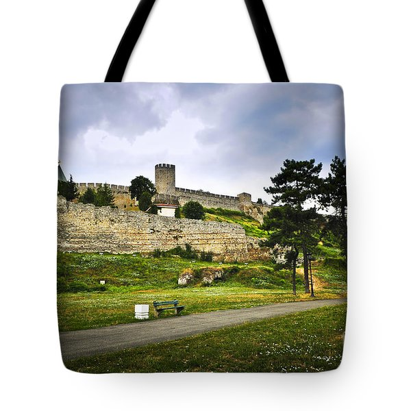 Kalemegdan Fortress In Belgrade Tote Bag by Elena Elisseeva