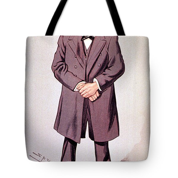Rudolph Virchow, German Polymath Tote Bag by Science Source