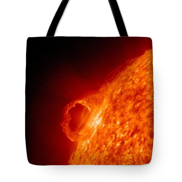 Solar Prominence Tote Bag by Science Source