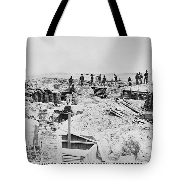 Civil War: Petersburg Tote Bag by Granger