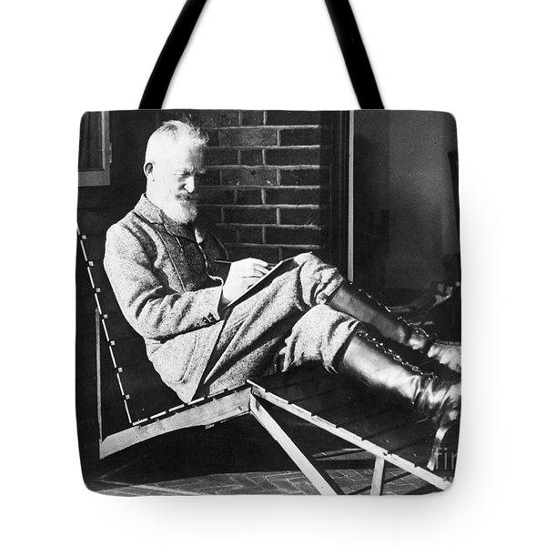 George Bernard Shaw Tote Bag by Granger