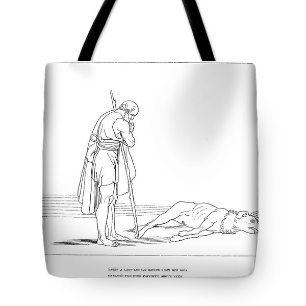 Homer: The Odyssey Tote Bag
