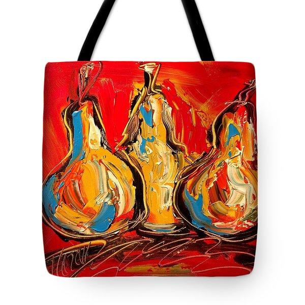 Pears Tote Bag by Mark Kazav