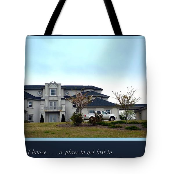 12000 Sf House Tote Bag by Renee Trenholm