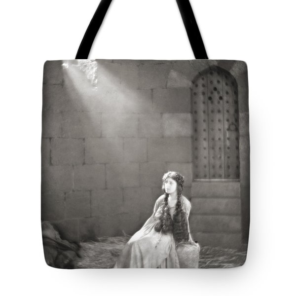 Silent Film Still: Woman Tote Bag by Granger