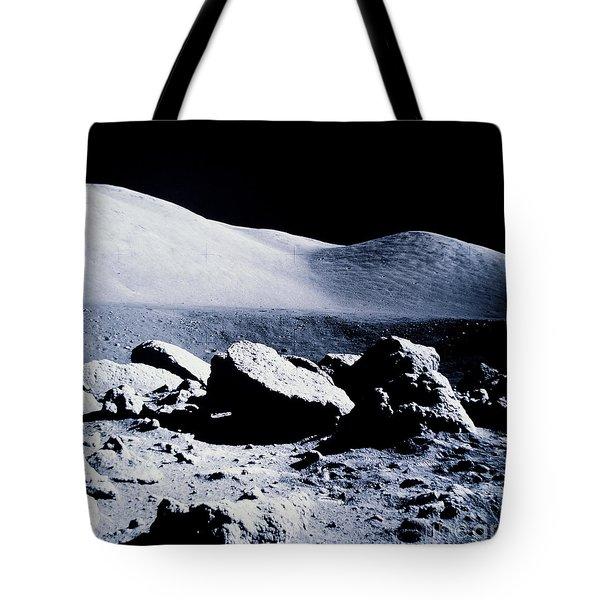 Apollo Mission 17 Tote Bag by Nasa