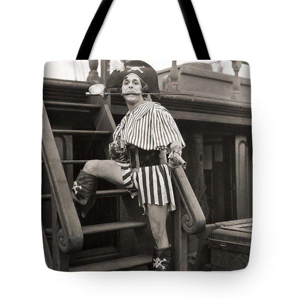 Silent Film Still: Pirates Tote Bag by Granger