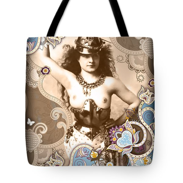 Goddess Tote Bag by Chris Andruskiewicz