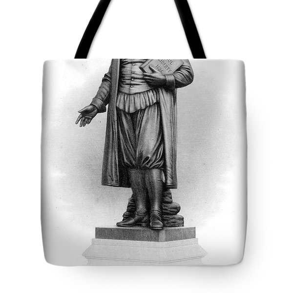 Roger Williams (1603-1683) Tote Bag by Granger