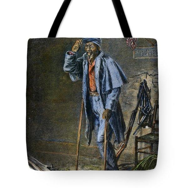 Civil War: Black Troops Tote Bag by Granger
