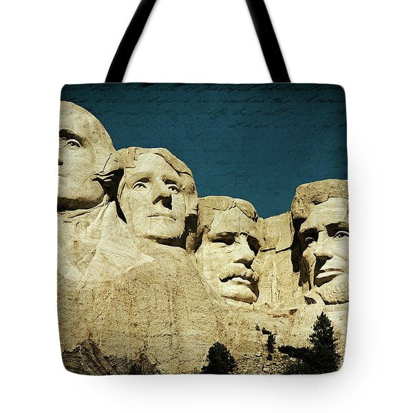 150 Years Of American History Tote Bag