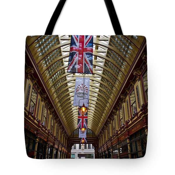 Leadenhall Market London Tote Bag by David Pyatt