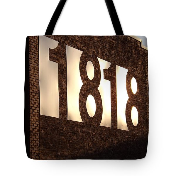 Tote Bag featuring the photograph 1818 Shine by Elizabeth Sullivan