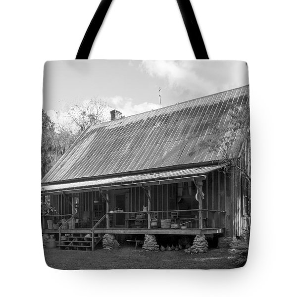 1850's Florida Cracker Farmhouse Tote Bag by Lynn Palmer