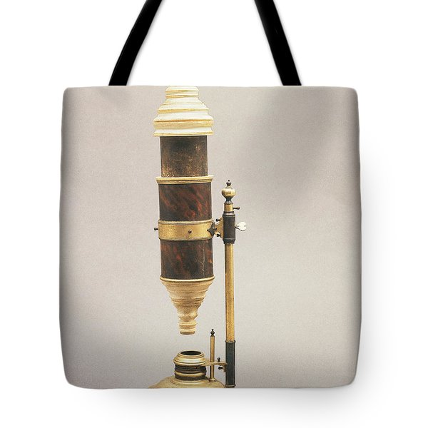 18th Century Microscope Tote Bag by Tomsich