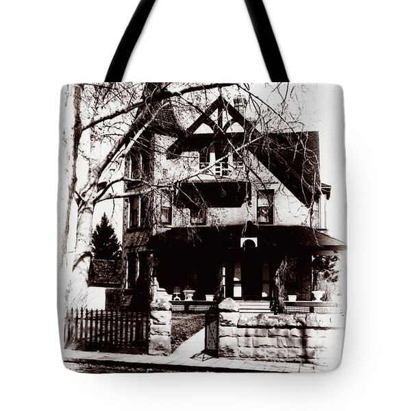1900 Home Tote Bag by Marcin and Dawid Witukiewicz
