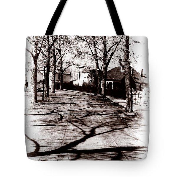 1900 Street Tote Bag by Marcin and Dawid Witukiewicz