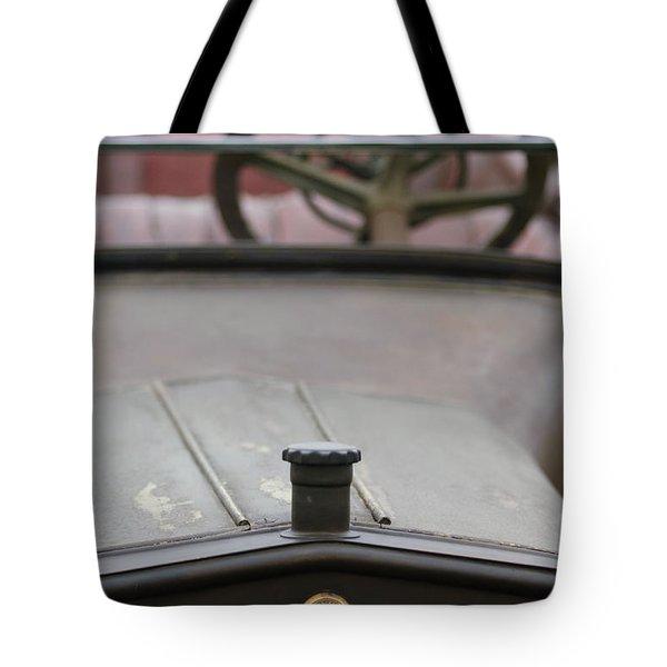 1916 Winton Model 33 Touring Hood Ornament Tote Bag by Jill Reger