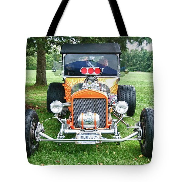 1923 T-bucket 8584 Tote Bag by Guy Whiteley