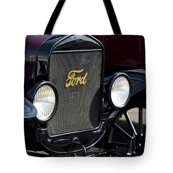 1925 Ford Model T Coupe Grille Tote Bag by Jill Reger
