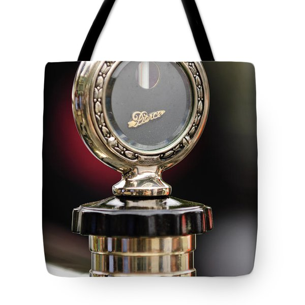 1927 Pierce-arrow Limousine Motometer Hood Ornament Tote Bag by Jill Reger