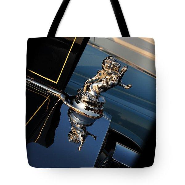 1928 Franklin Sedan Hood Ornament Tote Bag by Paul Ward