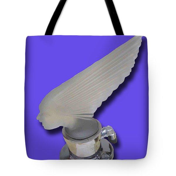 1929 Pierce Arrow Mascot Tote Bag by Jack Pumphrey