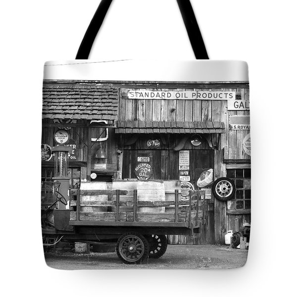 1930's Gas Station Tote Bag