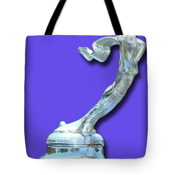 1931 Cadillac Goddess Mascot Tote Bag by Jack Pumphrey