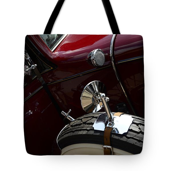 1932 Chevrolet Detail Tote Bag by Bob Christopher