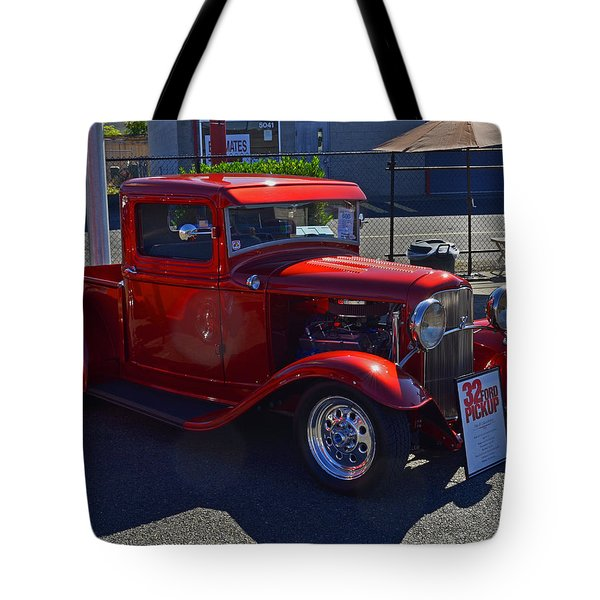 Tote Bag featuring the photograph 1932 Ford Pick Up by Tikvah's Hope